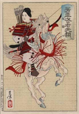 Hangaku by Yoshitoshi Taiso1885