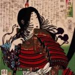 Tomoe Gozen by Yoshitoshi 1880