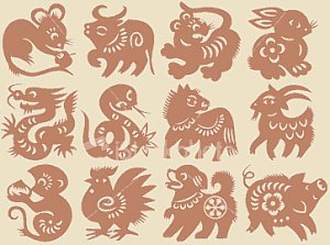 Animals of the Japanese Zodiac