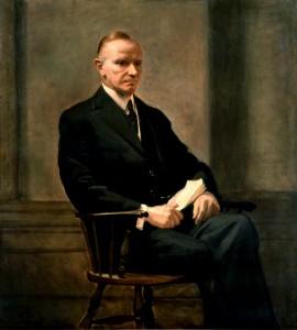 Coolidge White House portrait