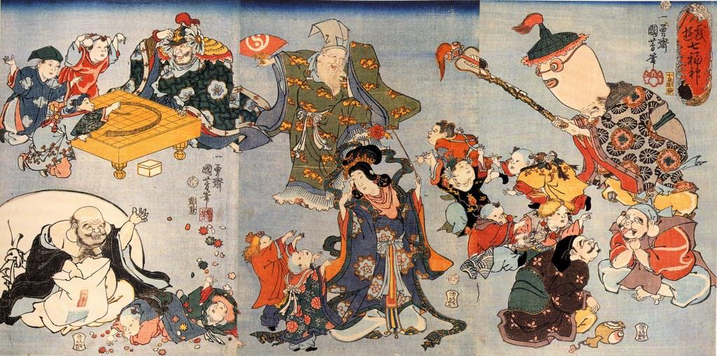 Seven Gods Of Good Fortune