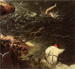 Icarus and the Angler