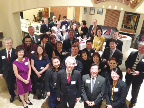 Counsel General and Japan America Society of San Antonio