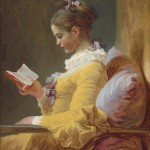 A Young Girl Reading, c. 1776, by Jean-Honoré Fragonard