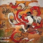Benzaiten  (an Edo painting)