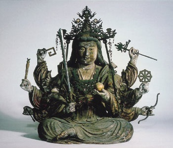 Benzaiten with many hands & talents